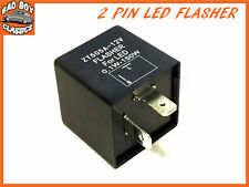 2 Pin Electronic LED Flasher / Hazard Relay - MG, Classic Mini, Triumph etc
