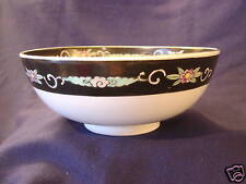 ORIENTAL BOWL BIRDS FLOWERS MARKED IMARI 9 1/2""