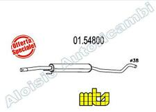 0154800 SILENCER / MIDDLE MTS OPEL CORSA C 1.0 58/60CV FROM 09/2000 > 12/2006