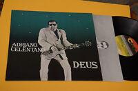 ADRIANO CELENTANO LP DEUS 1°ST ORIG ITALY 1981 EX++ TOP COLLECTORS INNER