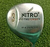 Nitro The Power 3 Wood  / RH /  UST WACKA WACKA Stiff Graphite / Lamkin / mm0502