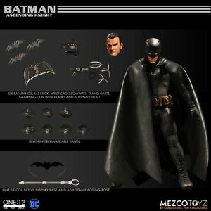 BATMAN Ascending Knight One:12 Collective Gray Suit Action Figure by Mezco Toyz