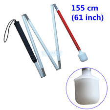 Aluminum Mobility Folding Cane for the Blind  155 cm (61 inch)