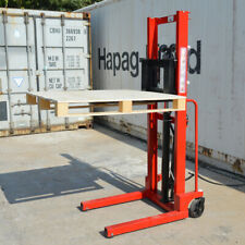 Manual Stacker Hand Pump Lift Truck 2204 Lbs Capacity For Single Sided Pallet