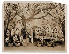 Risque vaudeville burlesque BANDBOX REVUE musical show set 1920s
