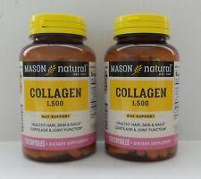 PACK 2 X 120 Capsules COLLAGEN HYDROLYSATE PLUS Vitamin C & BIOTIN 1500 mg /3 C