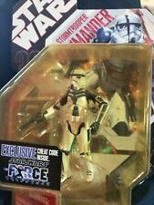 Star Wars Force Unleashed Stormtrooper Commander Exclusive Figure. Free Delivery
