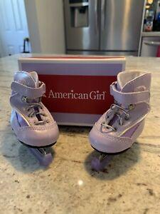 American Girl Mia - Purple Ice Skates - GOTY 2008 - Retired