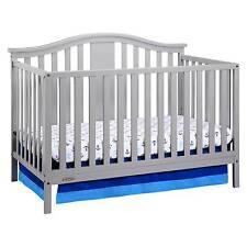 Graco® Solano 4-in-1 Convertible Crib with Bonus Mattress - Pebble Gray