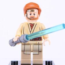 Star Wars Mini Figure Obi-Wan Kenobi Fits Lego Building Toy Super Hero