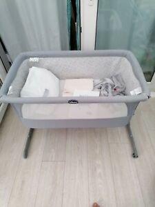 Next2me crib chicco baby co sleeping cot bedside next to me