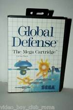 GLOBAL DEFENSE GIOCO USATO AS NEW SEGA MASTER SYSTEM EDIZIONE ITALIANA PAL 27117