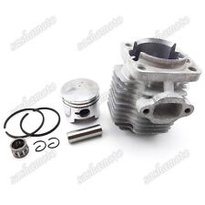 44mm Cylinder 12mm Piston Kit For 49cc 2 Stroke Engine Mini Dirt Pocket Bike ATV