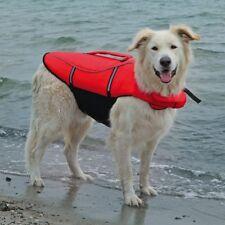 Trixie 30145 Schwimmweste für Hunde XL 65 Cm/max. 45 Kg rot / schwarz
