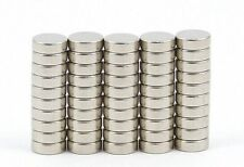 100pcs Neodymium Disc Mini 6X2mm Rare Earth N35 Strong Magnets Craft Models