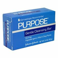 2 Pack Purpose Gentle Cleansing Face Bar 3.6 oz