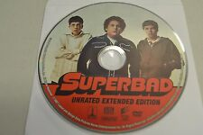 Superbad (DVD, 2007, Unrated; Extended Edition)Disc Only Free Shipping