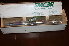 EMCOR EM-1577951 30MM Ball Screw Assembly, Overall Length: 640mm,Travel: 390mm