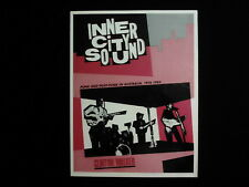 INNER CITY SOUND: Punk and Post-Punk in Australia 1976-'85 w/ CD- Clinton Walker