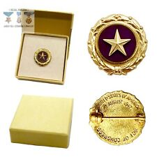 KILLED IN ACTION GOLD STAR PIN NEXT OF KIN PURPLE HEART FAMILY BOX PERIOD 1947