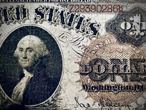 *⭐️LARGE BROWN SEAL⭐️*1880 $1 Legal Tender Note, Beautiful. VG, Nice for grade!