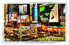 NEW YORK BROADWAY FRIDGE MAGNET SOUVENIR IMAN NEVERA