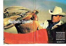 PUBLICITE ADVERTISING 126  1991   Marlboro Country Travel (2p)  JET America