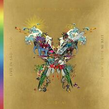 COLDPLAY Live In Buenos Aires Live In Sao Paulo A Head Full Of Dreams 2-CD 2-DVD