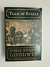 Team of Rivals: Political Genius of Abraham Lincoln (2005) Goodwin HCDJ Like-NEW