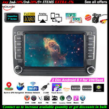 7''2 Din GPS Android Car Radio for VW/Seat +CAM Touch iOS Mirror Link BT Wifi FM