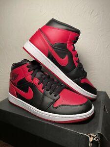 Air Jordan 1 Mid Banned (2020) Men's Size 13 (554724-074)
