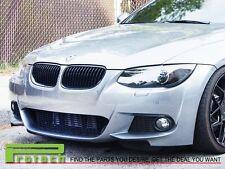 2011-2013 BMW E92 LCI Coupe 320i 328i 335i Shiny Gloss Black Front Grille Kit