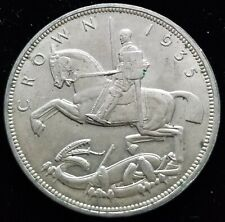 United Kingdom England 1 Crown 1935 50.0% Silver (3)