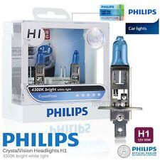 Genuine PHILIPS H1 Crystal Vision Hi Lo Halogen Bulb 4300K 12V 55W Car Light