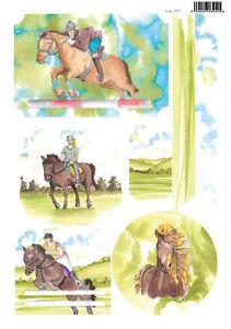Craft UK Die Cut Toppers Line 2076 - Horses & Ponies I