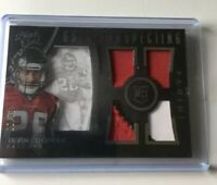 2015 BLACK GOLD TEVIN COLEMAN ROOKIE 4 Jersey RC #95/99 CARD 49ERS Falcons 49ers