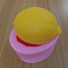 JM lemon 3D soap mold silicone fruit mold decorative chocolate mold cake molds