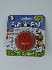 Pet Qwerks - Small - Animal Sounds - Babble Ball - Toy for Dogs