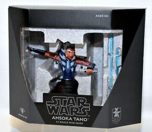 Gentle Giant Star Wars: The Clone Wars Ahsoka Tano 1/7 Scale Limited Bust NEW!