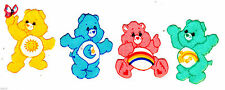 "1.5"" Care bears funshine bedtime bear mini set fabric applique iron on character"