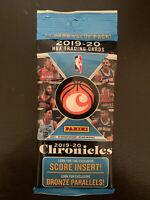 2019-20 CHRONICLES NBA BASKETBALL CELLO/FAT PACK ZION JA HERRO RC PRIZM 15 CARDS