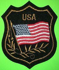 US FLAG SHEILD COLOR PATCH REPRO NEW (L124)