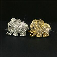 Car Air Freshener Clip Car Smell Scent Perfume Bling Elephant Auto Decor Gift