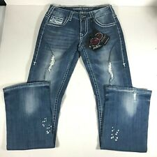 COWGIRL TUFF COMPANY  UNBELIEVABLE FIT JEANS sz 29 x 35 bootcut