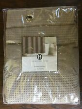 """Hotel Collection Bath Waffle Weave 72"""" X 72"""" Shower Curtain Beige"""