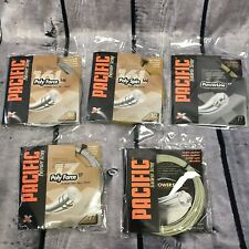 PACIFIC TENNIS POLY SPIN FORCE POWER LINE SYNTHETIC STRING RACKET PARTS (H19)