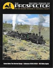 The Prospector D&RGW Santa Narrow Gauge Steel Cabooses Mudhen Steam Locomotive