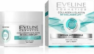 EVELINE COSMETICS 3D Collagen & Elastin Lift Intense Anti-Wrinkle Day/Night Crea