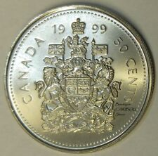 1999 P Canada Test Token 50 Cents