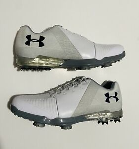 Under Armour Jordon Speith Golf Shoes Gore-Tex NEW Size 9 White 3000165-105